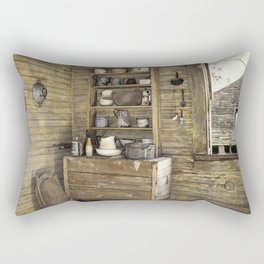 Old kitchen in Louisiana Rectangular Pillow