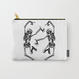 Duo Dancing Skeleton Carry-All Pouch