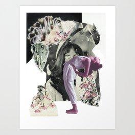 Lean Into It / Sweet Chaos Art Print