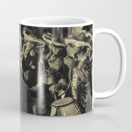 Group of Candombe Drummers at Carnival Parade of Uruguay Coffee Mug