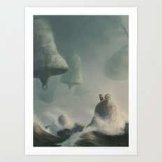 my storm bells Art Print