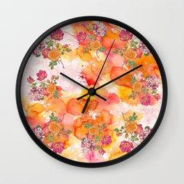 Ring a ring o' roses Wall Clock