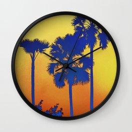 Palmed II Wall Clock