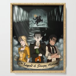 Poster: The Legend of Sleepy Hollow Serving Tray