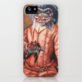 Portrait of a Little Critter iPhone Case