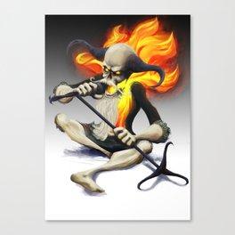 Heavy metal spirit Canvas Print