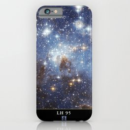 NASA Hubble Space Telescope Poster - LH 95, a Stellar Nursery in the Large Magellanic Cloud iPhone Case