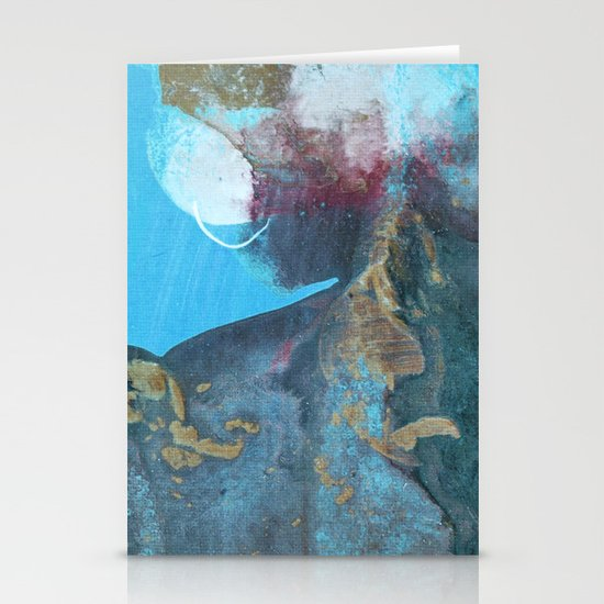 abstract 113 Stationery Cards