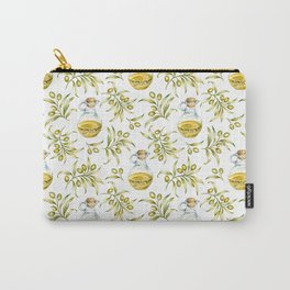 olive oil pattern Carry-All Pouch