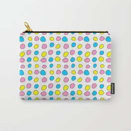 multicolor 2 polka dot-polka dot,pattern,dot,polka,circle,disc,point,abstract,minimalism Carry-All Pouch