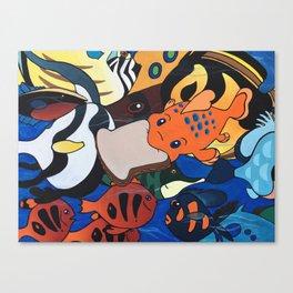 Pudge the Fish Canvas Print
