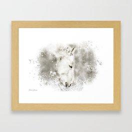 LIGHT HAY Framed Art Print