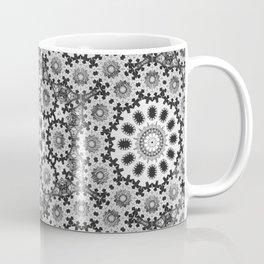 Magical black and white mandala 010 Coffee Mug