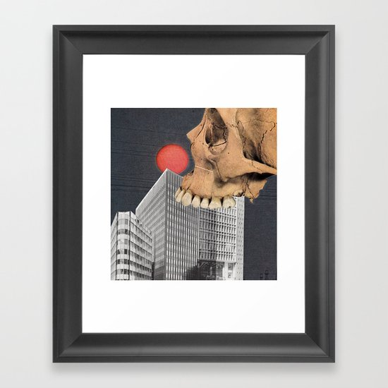 Haunted By Clowns Framed Art Print