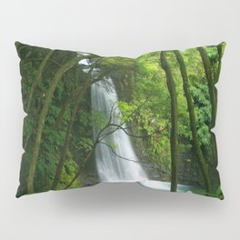 Waterfall in the Azores Pillow Sham