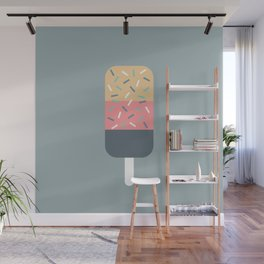 Popsicle (Blue) Wall Mural