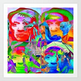 Pop Picasso Art Print