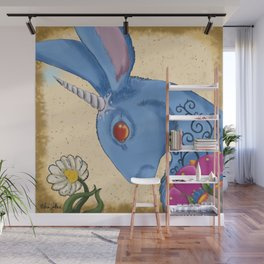 Unicorn Bun Wall Mural