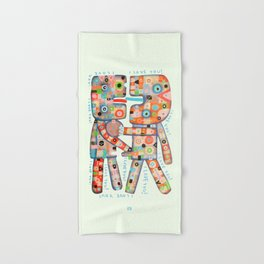I Love You! Hand & Bath Towel