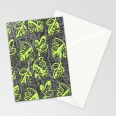 Leaves pattern1 Stationery Cards