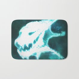 Aberrant Skull - Digital Demon Bath Mat