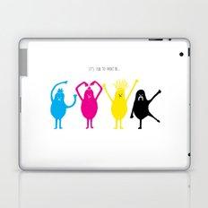 It's fun to print in CMYK Laptop & iPad Skin