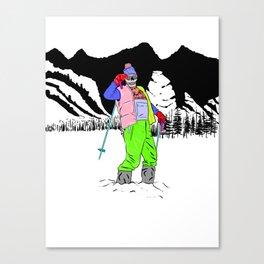 Fresh Pow Canvas Print