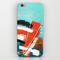 skyline iPhone & iPod Skins featuring Skyline by Rafael Galue