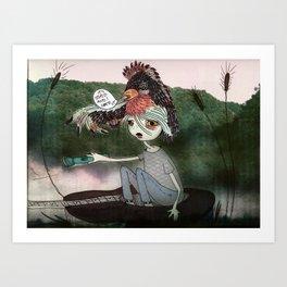 Tired Spirit Art Print