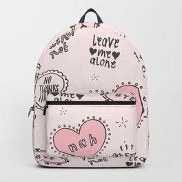 anti-valentines Backpack