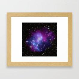 Galaxy Cluster MACS Framed Art Print