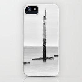 Groynes & Posts - Eastney, Portsmouth iPhone Case