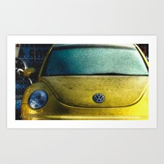 'Yellow One' Art Print