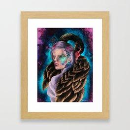 """Did He Make You Feel Like Wallpaper"" Painting Framed Art Print"