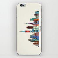 cleveland iPhone & iPod Skins featuring Cleveland city  by bri.buckley