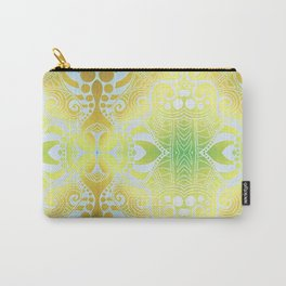 Gold Lotus Carry-All Pouch