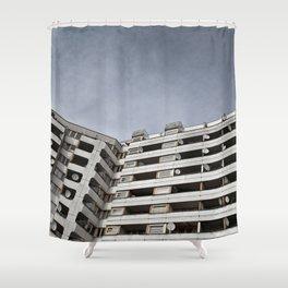 Kreuzberg Dishes Shower Curtain