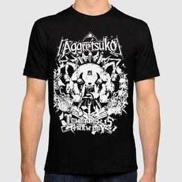 Red Panda Death Metal cutie Aggretsuko T-shirt