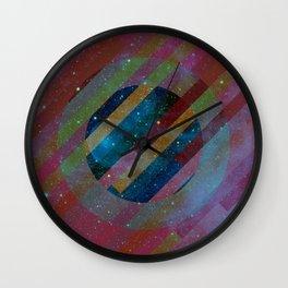 Space Circles Wall Clock