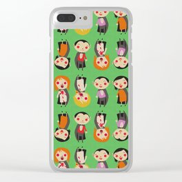 Vampires Clear iPhone Case