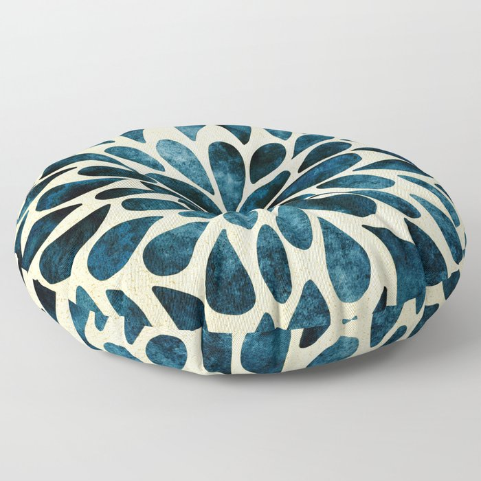 Petal Burst #5 Floor Pillow
