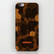 Modern Woodgrain Camouflage / Duck Print iPhone & iPod Skin