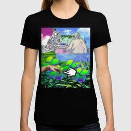Jesus Vaporwave T-shirt