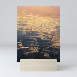 Marbled Sea Mini Art Print