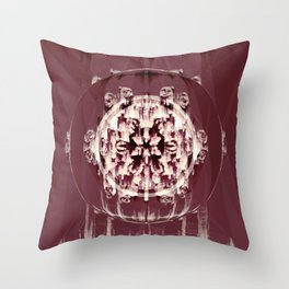 Sequential Baseline Mandala 12i2 Throw Pillow