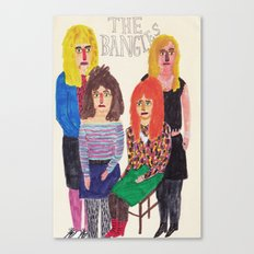 The Bangles Canvas Print