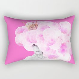 Cotton Candy Queen Rectangular Pillow