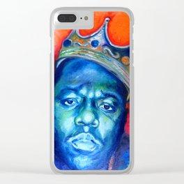 """Biggie Smalls"" Clear iPhone Case"