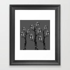 Don't Feel Like Flying Framed Art Print