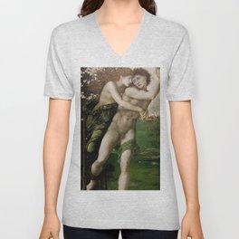 "Edward Burne-Jones ""Phyllis and Demophoon"" Unisex V-Neck"